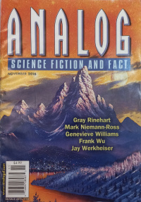 «Analog Science Fiction and Fact, November 2016»