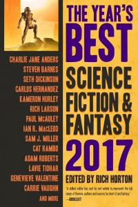 «Year's Best Science Fiction and Fantasy 2017»